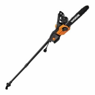 WORX WG309 Electric Pole Saw & Chainsaw with Auto-Tension